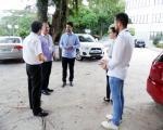 Recepção dos calouros 2017/1 com participação do Prefeito Municipal