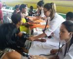 Curso de Enfermagem marca presença em evento sobre a violência contra a mulher