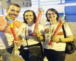 São Camilo presente em revezamento da Tocha Olímpica em Cachoeiro