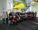 Cursos de Engenharia realizam visita técnica a Usina Nuclear